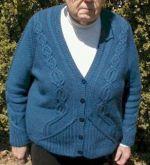 Geiger cardigan knit in Aalta Truth