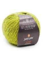 skein of Jody Long Alba yarn