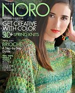Cover of Noro Knitting Magazine issue 14