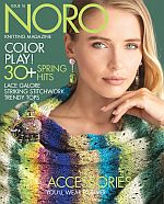 Cover of Noro Knitting Magazine Spring/Summer 2020