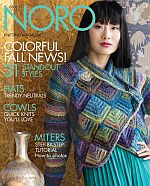 Cover of Noro Knitting Magazine Fall/Winter 2020