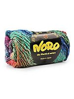 Skein of Noro Silk Garden yarn