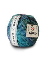 Skein of Noro Viola yarn